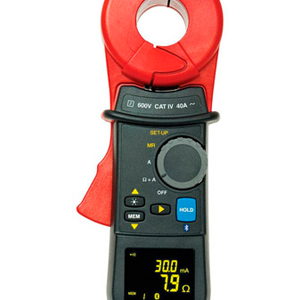 EM5254 Clamp-on ground resistance meter