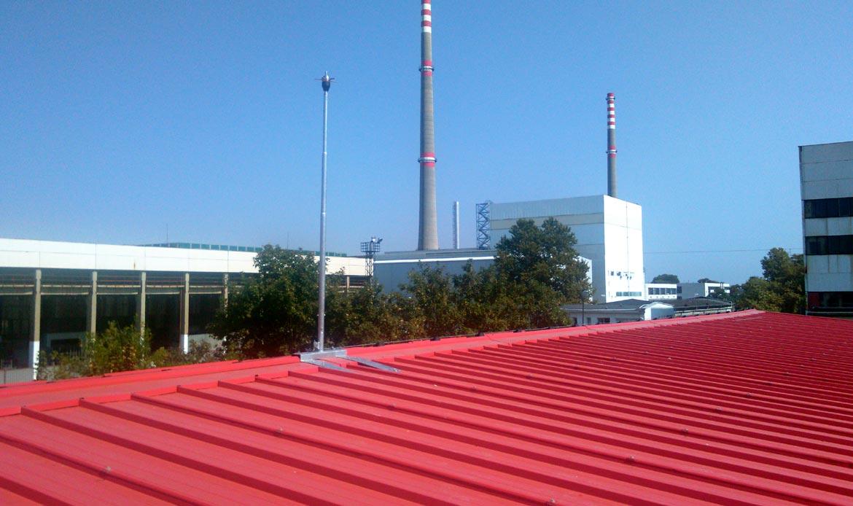 Lightning protection in Kozloduy NPP