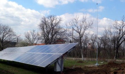 Photovoltaic system lightning protection