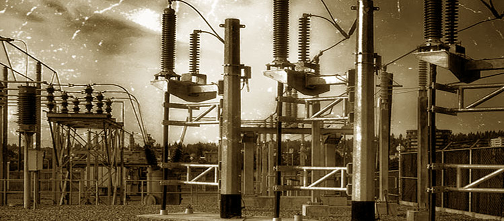 Ligtning protection power substations