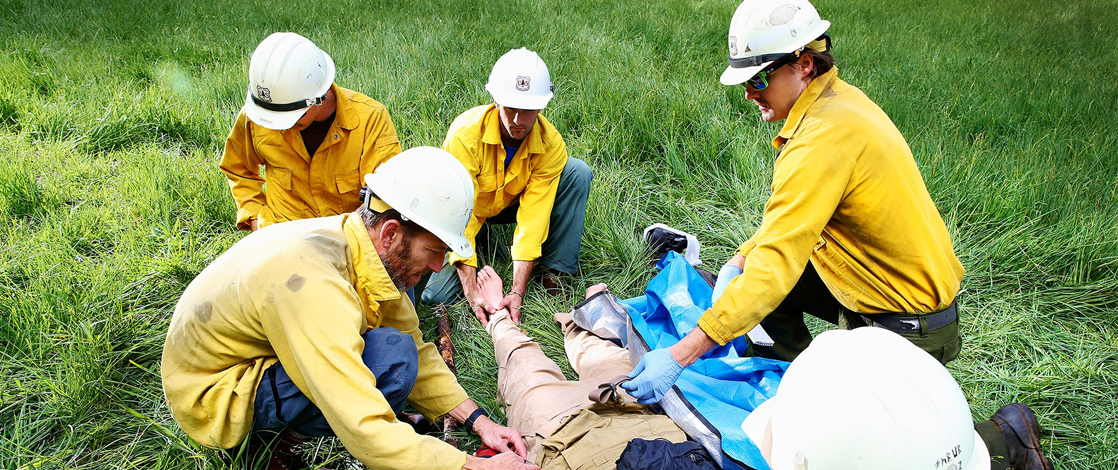 първа помощ-First Aid for Lightning Strikes
